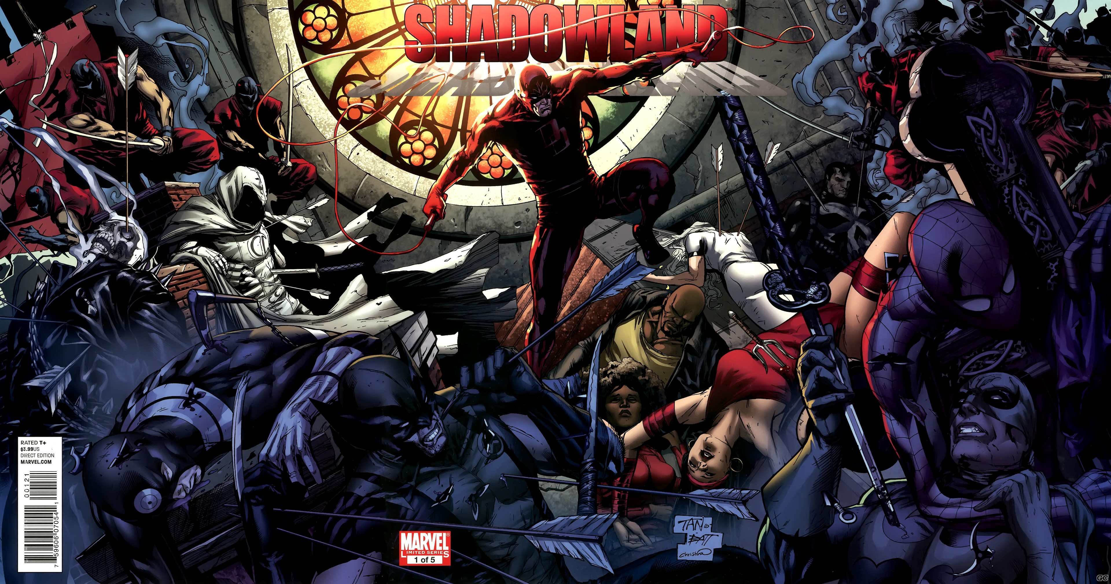 DAREDEVIL SHADOWLAND (ANDY DIGGLE-BILLY TAN)