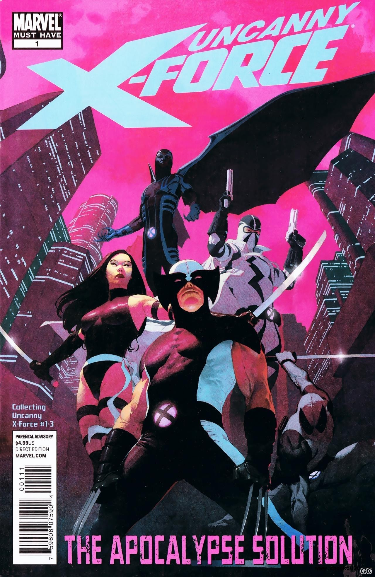 UNCANNY X-FORCE THE APOCALYPSE SOLUTION (RICK REMENDER-JEROM OPENA)