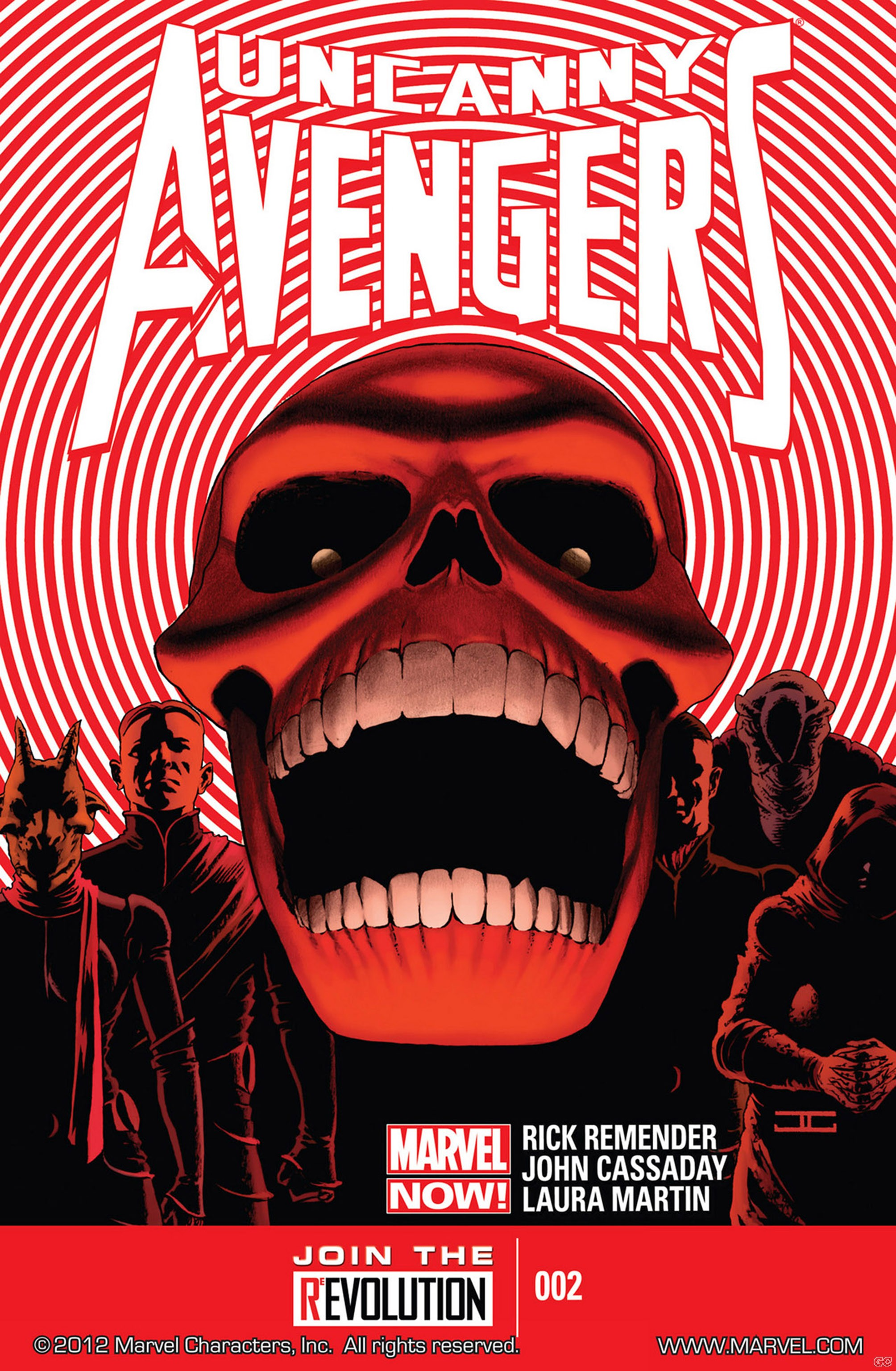 UNCANNY AVENGERS RED SHADOW (RICK REMENDER-JOHN CASSADAY)