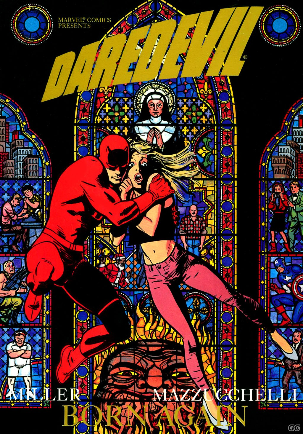 DAREDEVIL BORN AGAIN (FRANK MILLER-DAVID MAZZUCCHELLI)