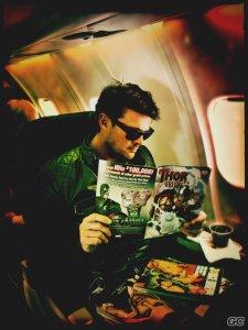 Carl Urban readin Thor.jpg