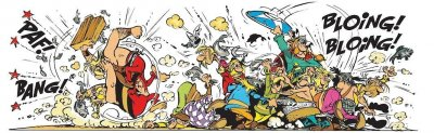 asterix village fish fight.jpg