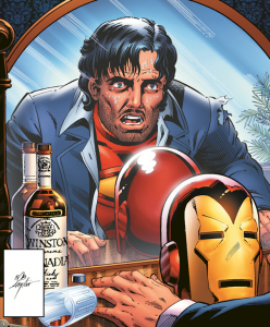 Iron Man Demon in a Bottle Tony Stark MCU Marvel Cinematic Universe Disney.png